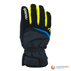 Перчатки горнолыжные REUSCH 2020-21 Balin R-Tex® XT Dark Granite/Safety Yellow 9.5""